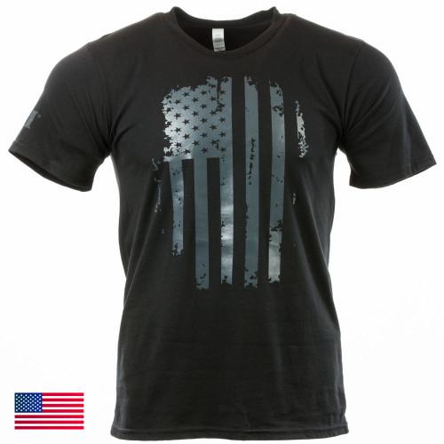 Patriot Tee S/S, Mod 32 (Black/Grey)