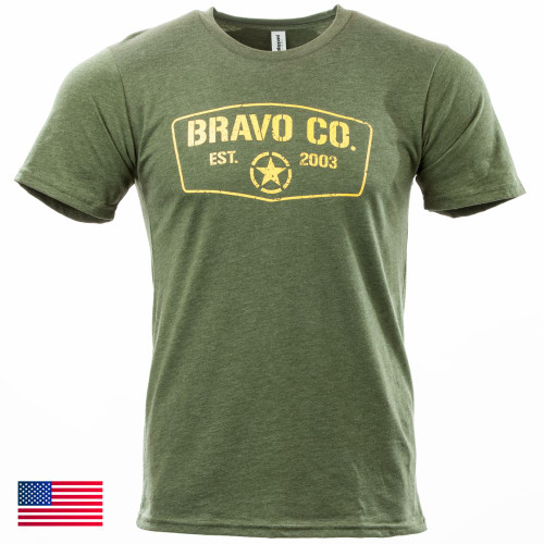 Command Tee S/S, Mod 3 (Green/Gold)