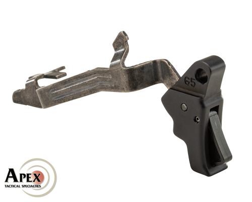 Apex Tactical Action Enhancement Trigger & Trigger Bar for Glock - Gen 5 - Black