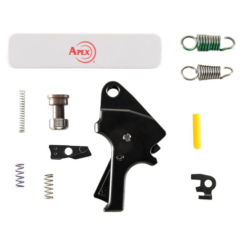 Apex Tactical Flat-Faced Forward Set Trigger Kit for M&P 2.0 - Black