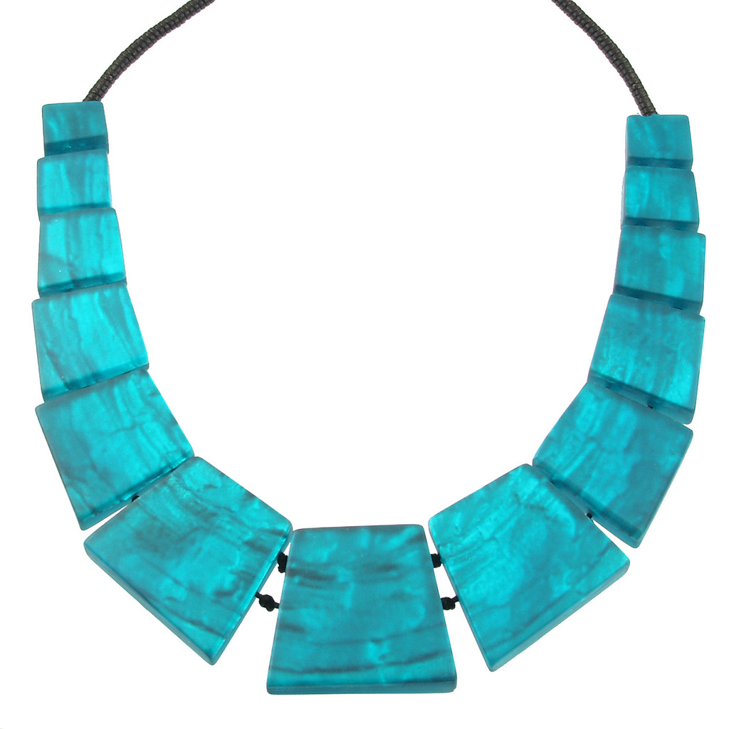 2074-2 - Aztec Necklace Turquoise