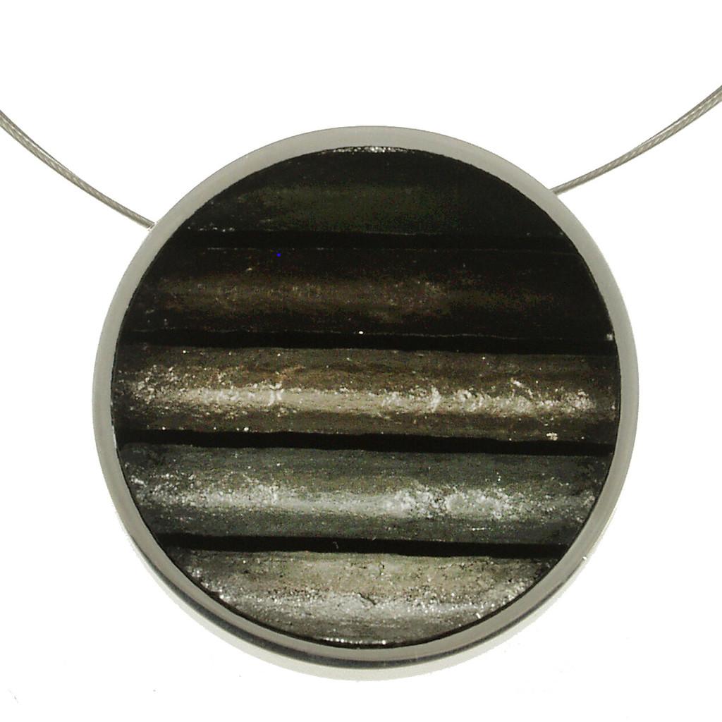 2161-9 - Gradient Pendant Black