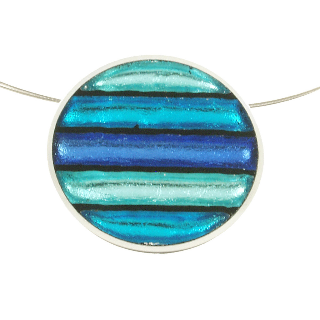 2161-22 - Gradient Pendant Turquoise