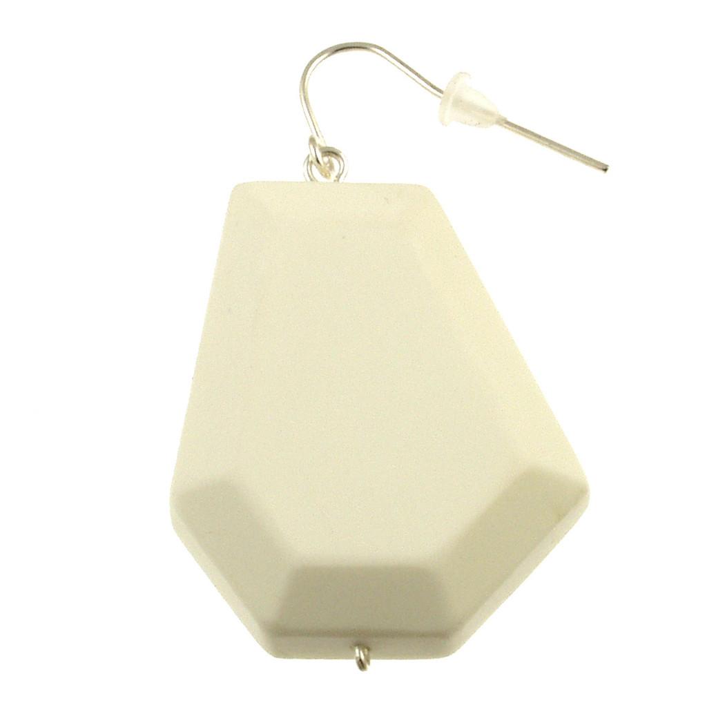 155-8 - Ecru White Earring