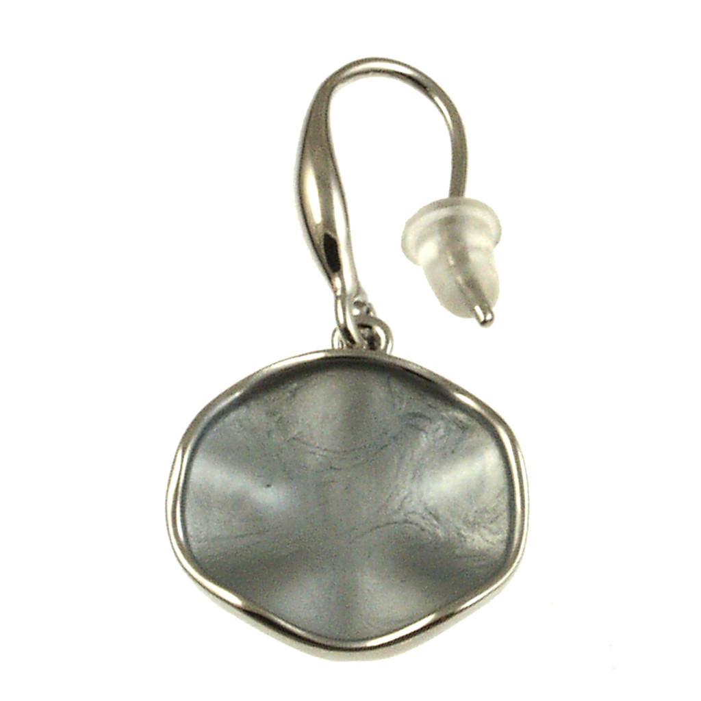 935-1 - Silver/Grey Earring