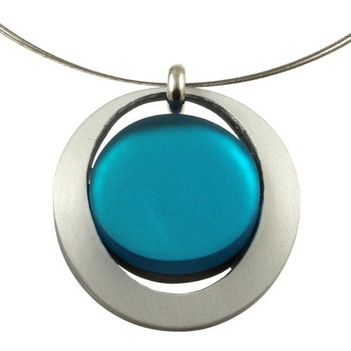 2203-2 - Eclipse Pendant Turquoise