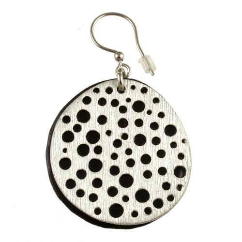 1778-26 - Mini Holes Earrings Estate Blue