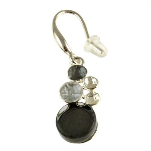 3441-9 - Multi-Dot Earring Grey Combi