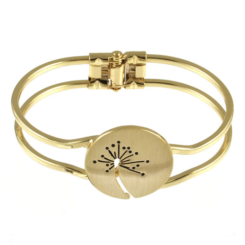 2529-2 - Brushed Gold Wish Bracelet