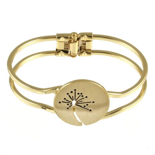 2529-2 - Brushed Gold Wish Bracelet