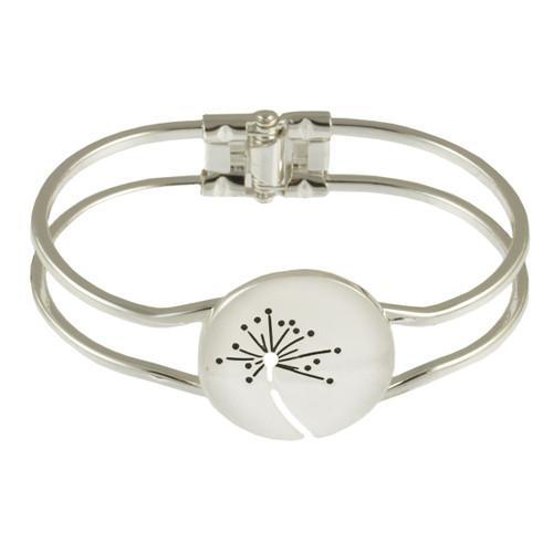 2529-1 - Brushed Silver Wish Bracelet