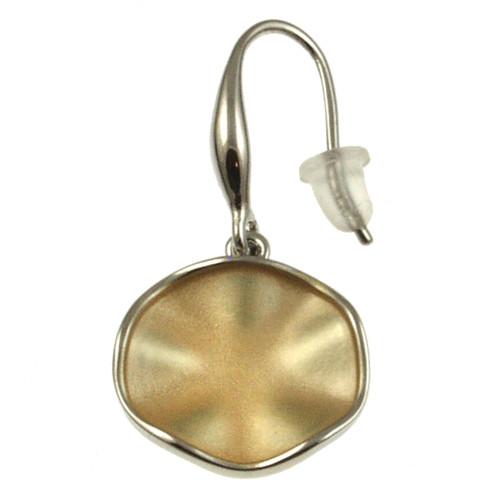 935-7 - GOLD/SILVER EARRING