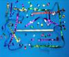 "18"" Airless Confetti Launcher Filled with Metallic Streamers & Confetti"