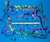 """18"""" Airless Confetti Launcher Filled with Metallic Streamers & Bubbles"""