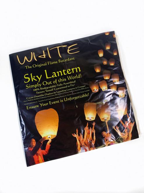 Flying Lanterns White