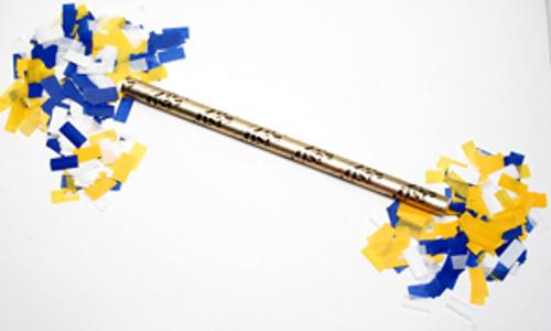 """18"""" Airless Confetti Launcher with Tissue Confetti  (Custom Colors)"""