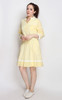 Pinstripe Patchwork Dress
