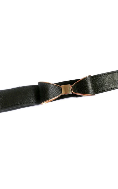 Ribbon Buckle Elastic Belt