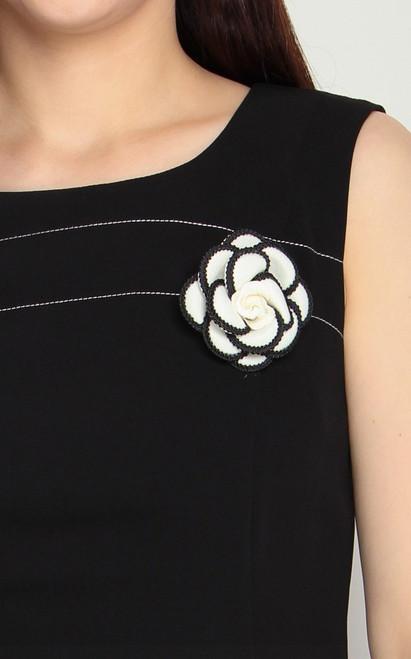 Camellia Brooch