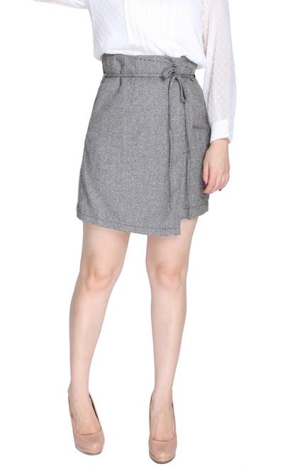 Paperbag Overlap Skirt