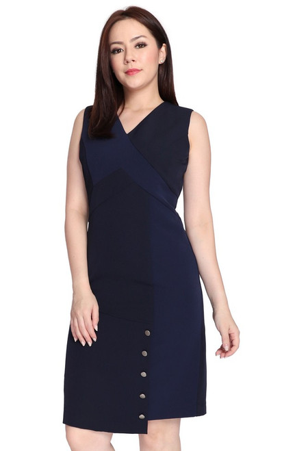 Panelled Pencil Dress