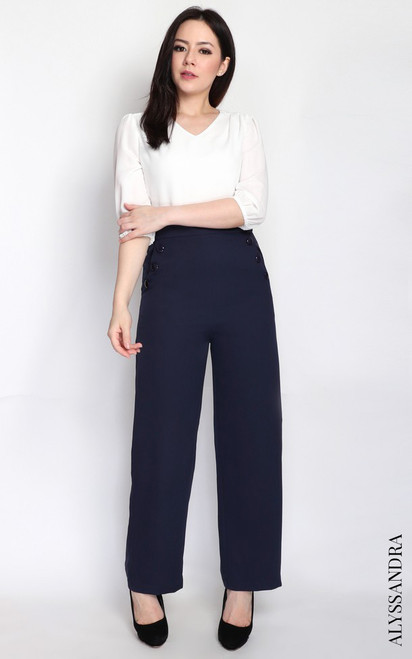 Duo Colour Jumpsuit - White