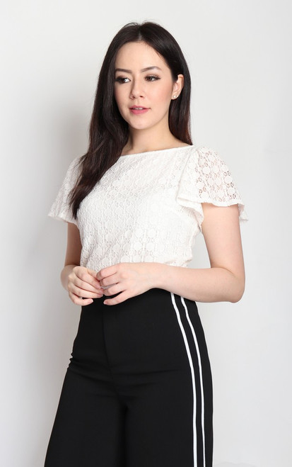 Angel Sleeves Lace Top