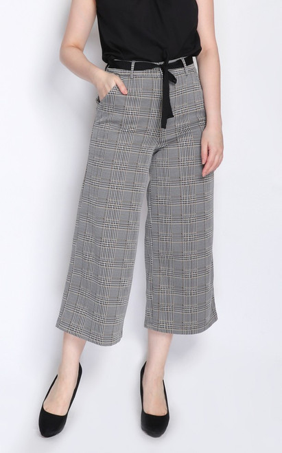 Plaid Culottes