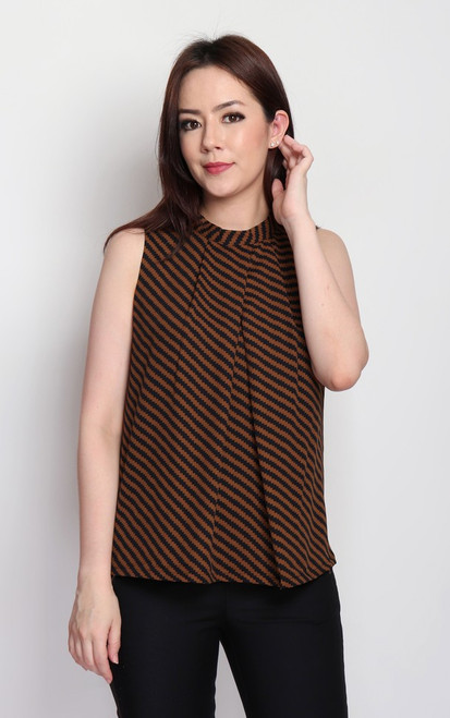 Inverted Pleat Top