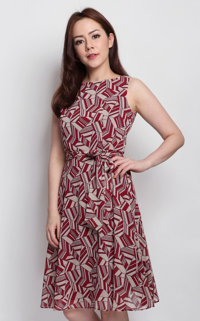 Jigsaw Print Dress