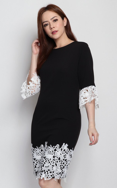 Lace Hem Dress