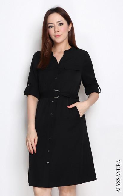 Utility Dress - Black