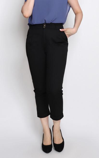 Peg Trousers - Black