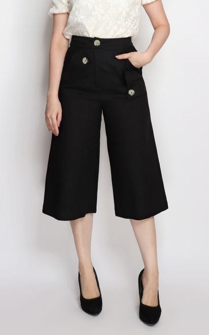 Pockets Culottes - Black