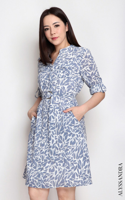 Utility Dress - Abstract