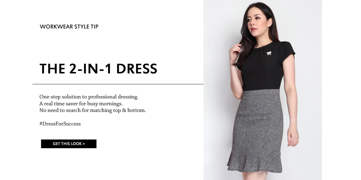 Tweed Bottom Dress
