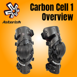 Asterisk Carbon Cell 1 Knee Brace Overview