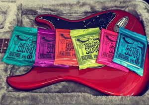 String Gauge Guide with Ernie Ball