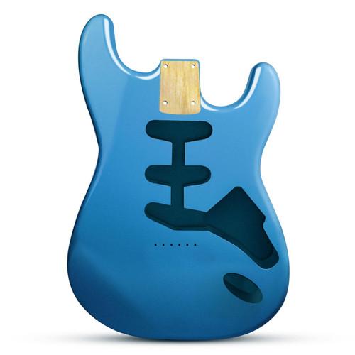 Finish Lake Placid Blue High Gloss Telecaster Erle Body Tele Alder Body