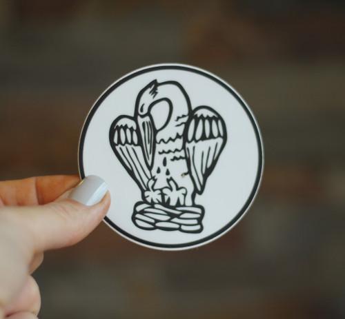 Sticker: Pie Pelicane