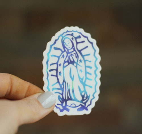 Sticker: Our Lady of Guadalupe
