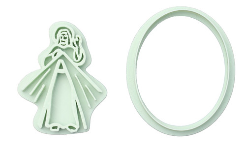 Divine Mercy 3D Printed Cookie Cutter |  Catholic Cookie, Christian