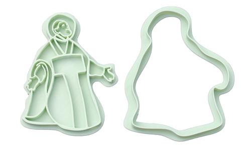 Saint Philip Neri 3D Printed Cookie Cutter |  Catholic Cookie, Christian