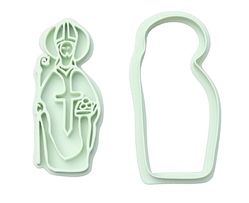 Saint Nicholas 3D Printed Cookie Cutter |  Catholic Cookie, Christian