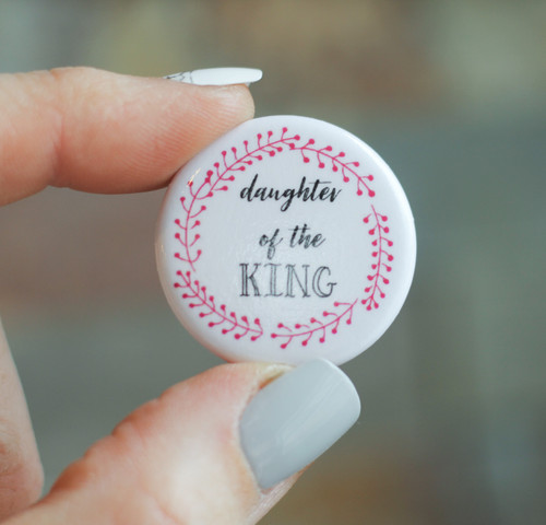 Button: Daughter of the King