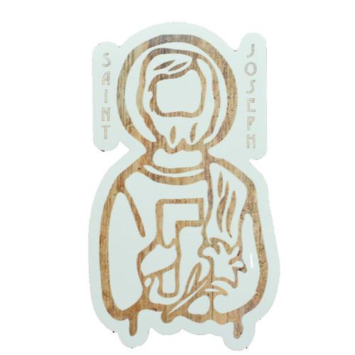 Diecut Magnet: Saint Joseph | Kitchen, Refrigerator