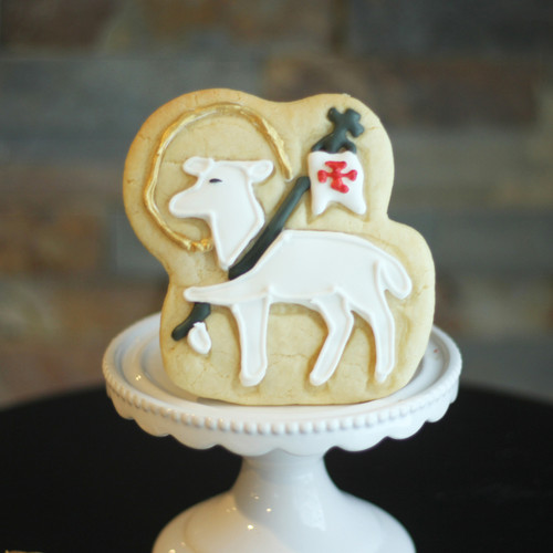Paschal Lamb Shape 3D Printed Cookie Cutter  | Catholic Cookie, Christian