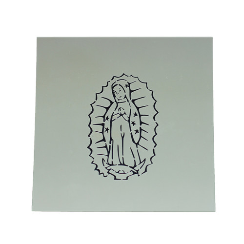 Our Lady of Guadalupe Cookie Stencil | Catholic Cookie, Christian