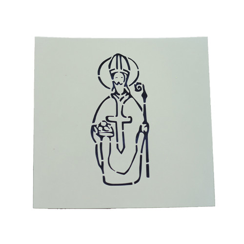 Saint Nicholas Cookie Stencil | Catholic Cookie, Christian