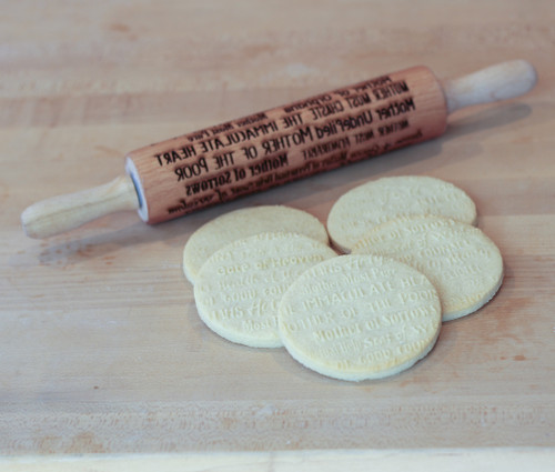 Names of Mary Laser Engraved Rolling Pin